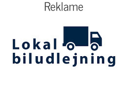 Biludlejning i hele Danmark